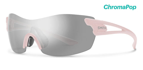 Smith - Pivlock Asana Dusty Pink Sunglasses / ChromaPop Platinum Lenses