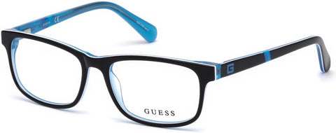 Guess - GU9179 Black Eyeglasses / Demo Lenses
