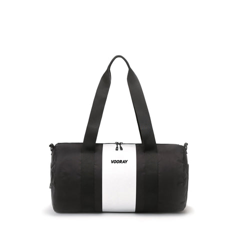 Vooray - Iconic Barrel Silver Stripe Duffel Bag