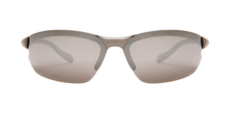 Native Dash XP Charcoal Sunglasses, Silver Reflex Lenses