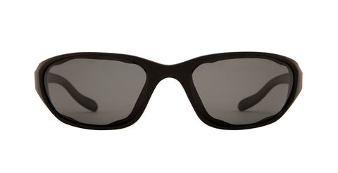 Native - Throttle Matte Black Sunglasses, Gray Lenses