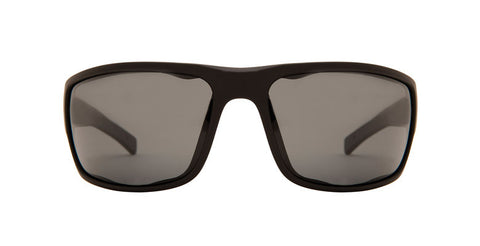 Native Cable Matte Black Sunglasses, Gray Lenses