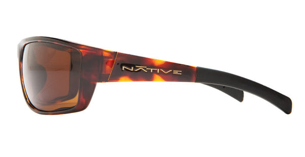 Native - Cable Maple Tort Sunglasses,  Brown Lenses