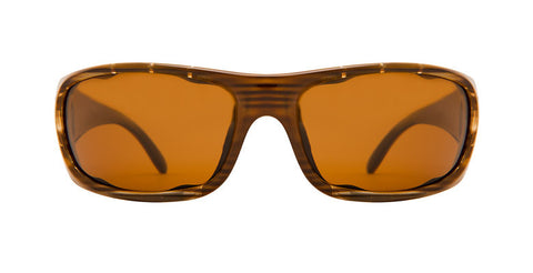 Native Bomber Wood Sunglasses, Brown Lenses