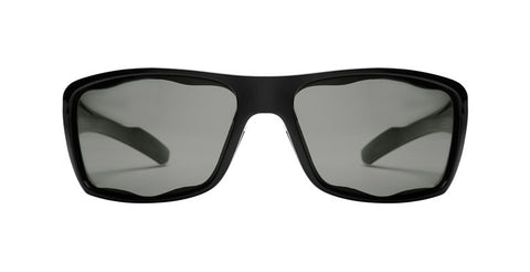 Native - Wazee Matte Black Sunglasses, Gray Lenses