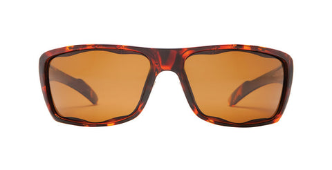 Native - Wazee Maple Tort Sunglasses,  Brown Lenses