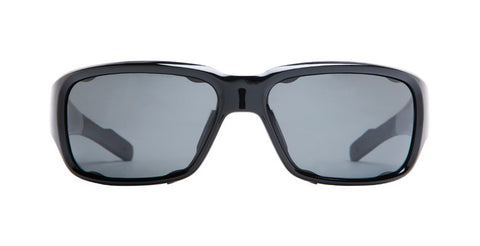 Native - Bolder Gloss Black Sunglasses, Gray Lenses