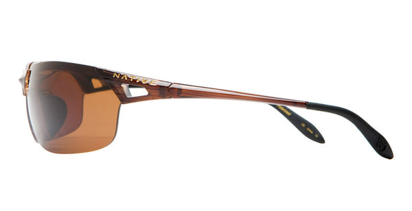 Native - Vigor Wood Sunglasses,  Brown Lenses