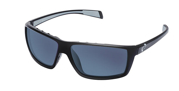 Native - Sidecar Matte Black Sunglasses, Blue Reflex Lenses