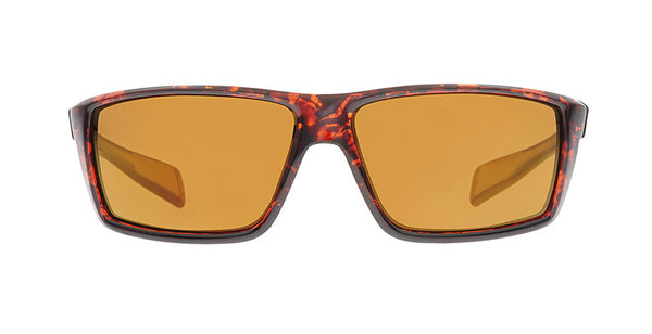Native - Sidecar Maple Tort Sunglasses,  Bronze Reflex Lenses
