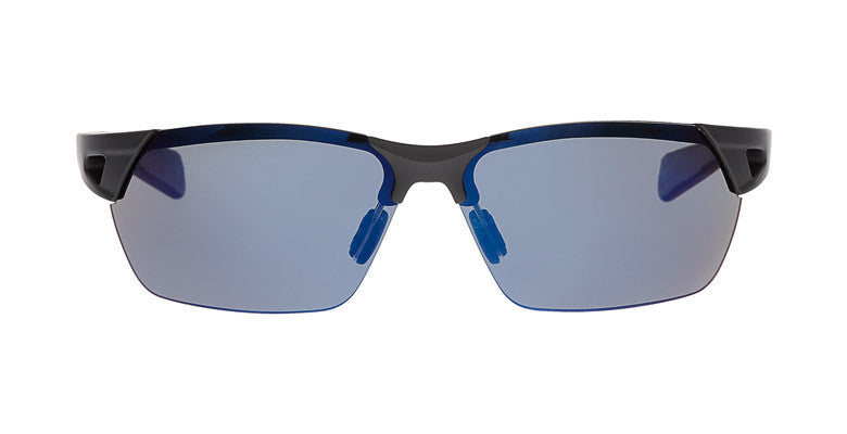 Native - Eastrim Matte Black Sunglasses,  Blue Reflex Lenses