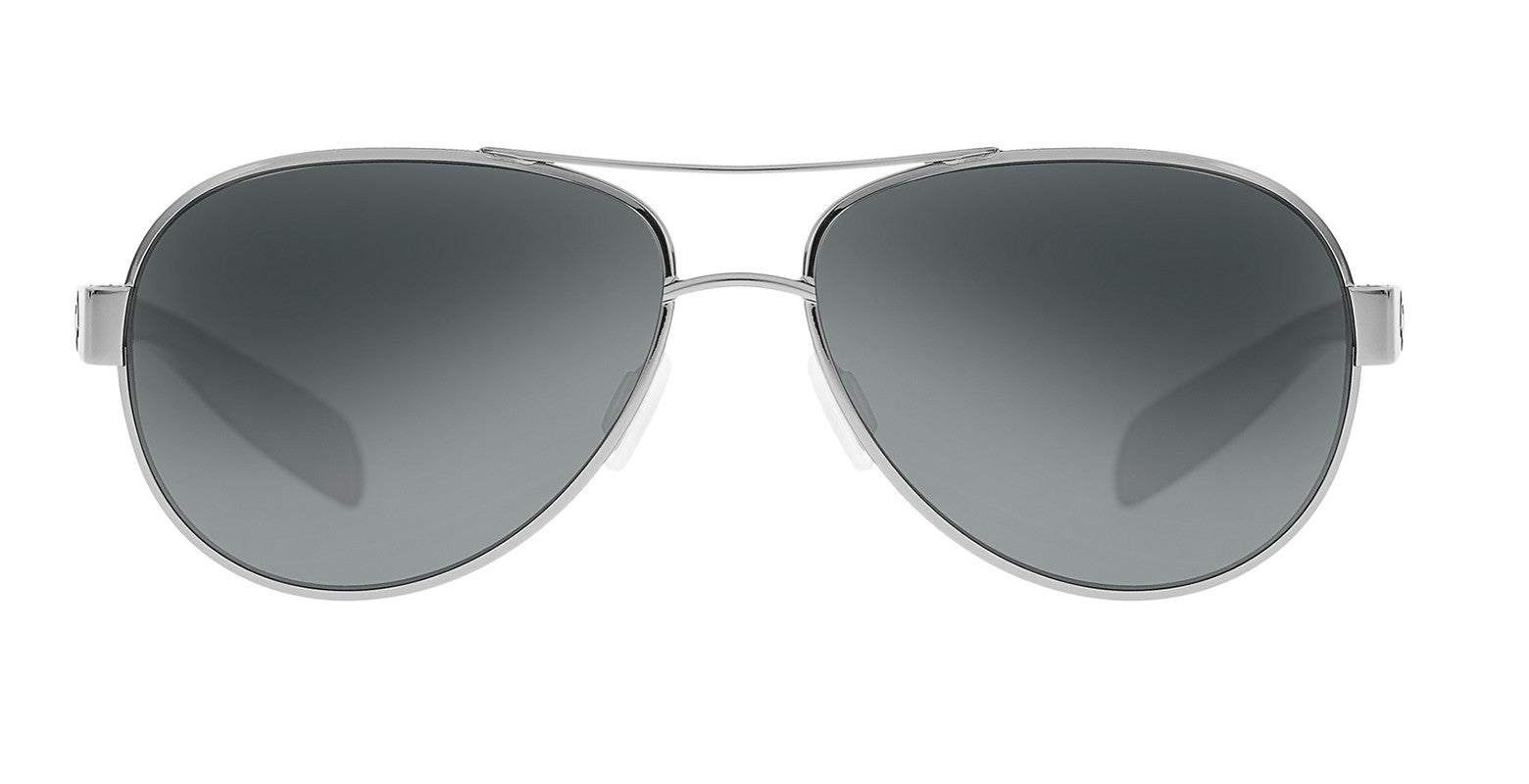 Native - Haskill Chrome/Gloss Black Sunglasses, Gray Lenses