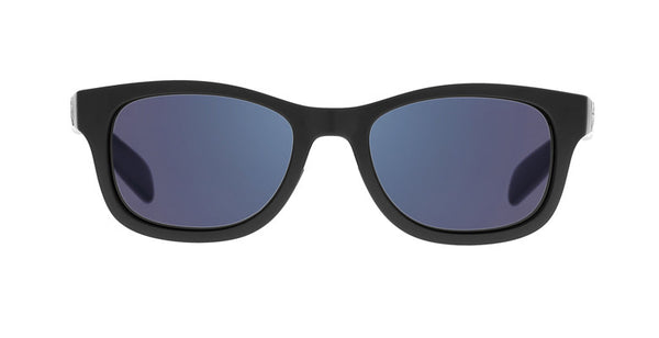 Native - Highline Matte Black Sunglasses, Blue Reflex Lenses