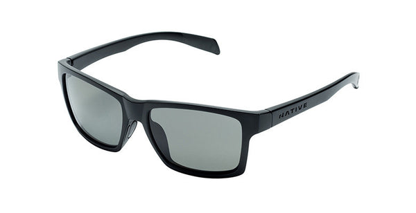 Native - Flatirons Asphalt Sunglasses, Polarized Gray Lenses