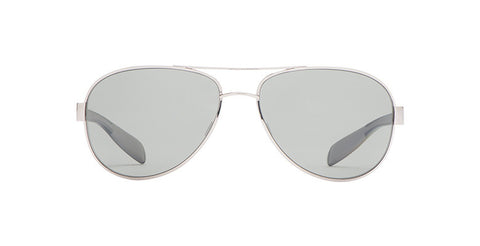 Native - Patroller Chrome/Shiny Black Sunglasses, Gray Lenses