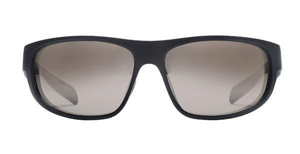 Native - Crestone Matte Black Sunglasses, Silver Reflex Lenses