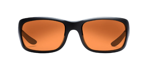 Native - Kannah Matte Black Sunglasses, Bronze Reflex Lenses