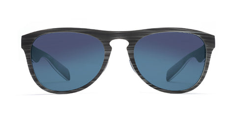 Native - Sanitas Driftwood Sunglasses, Blue Reflex Lenses