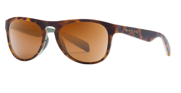 Native - Sanitas Desert Tort Sunglasses, Brown Lenses