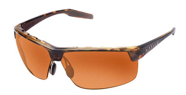 Native - Hardtop Ultra XP Desert Tort Sunglasses, Brown Lenses