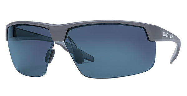 Native - Hardtop Ultra XP Granite Sunglasses,  Blue Reflex Lenses