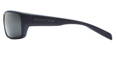 Native - Eddyline Matte Black / Granite Sunglasses, Gray N3 Lenses
