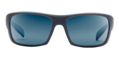 Native - Eddyline Granite / Matte Black Sunglasses, Blue Reflex Lenses