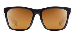 Native - Braiden Gloss Black Sunglasses, Bronze Reflex Lenses