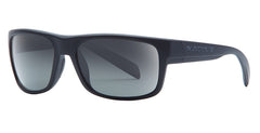 Native - Ashdown Matte Black Sunglasses, Gray Lenses