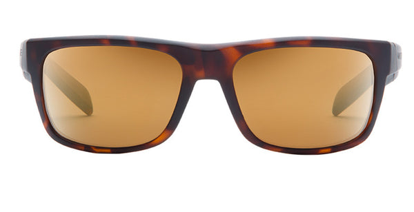 Native - Ashdown Matte Dark Tort Sunglasses, Bronze Reflex Lenses