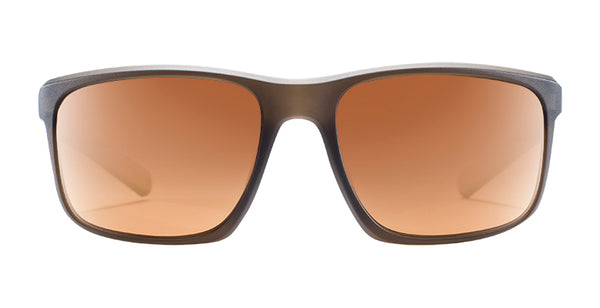 Native - Wells Dark Crystal Brown Sunglasses / Bronze Lenses