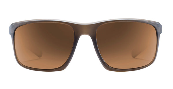 Native - Wells Matte Brown Crystal Sunglasses / Brown Lenses