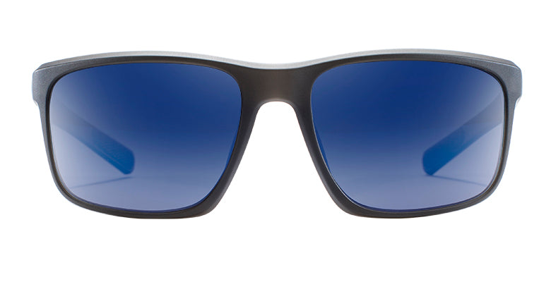Native - Wells Matte Black Sunglasses / Blue Lenses