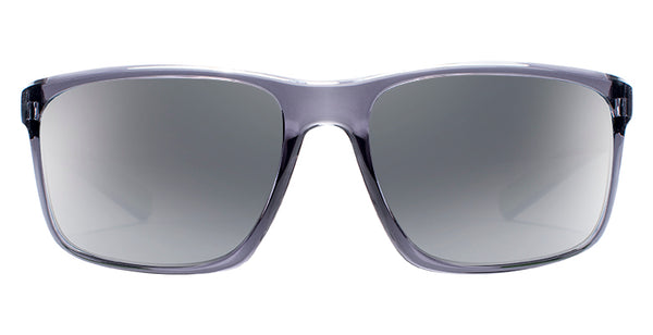 Native - Wells Dark Crystal Gray Sunglasses / Silver Lenses