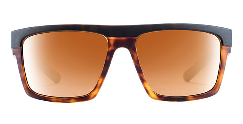 Native - El Jefe Matte Black+Shiny Tortoise Sunglasses / Bronze Reflex Lenses