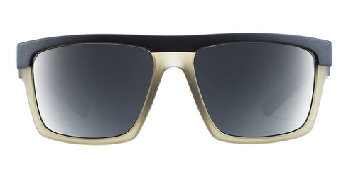 Native - El Jefe Matte Black + Matte Olive Sunglasses / Gray Lenses
