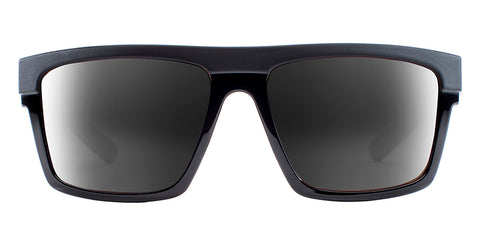 Native - El Jefe Matte Black + Gloss Black Sunglasses / Gray Lenses