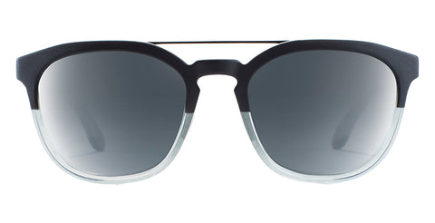 Native - Sixty-Six Matte Black + Crystal Sunglasses / Silver Lenses