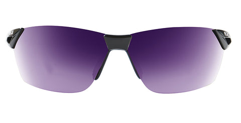 Native - Vigor Gloss Black + Violet Sunglasses / Violet Lenses
