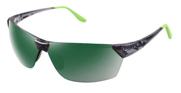 Native - Vigor Dark Crystal  Sunglasses / Green Lenses