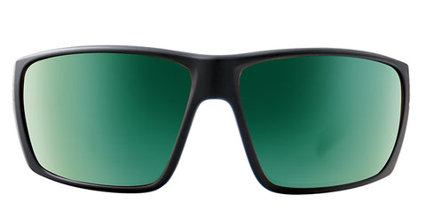 Native - Griz Matte Black Sunglasses / Green Reflex Lenses