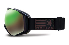 Native - Upslope United Goggles, Green Mirror Lenses