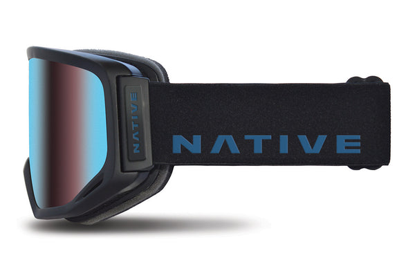 Native - Coldfront Indigo Goggles, Blue Mirror Lenses