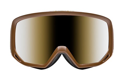 Native - Coldfront Buckskin Snow Goggles / Silver Mirror Lenses