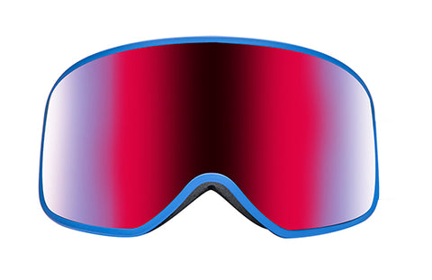 Native - Ten Mile Cobalt Snow Goggles / Blue Mirror Lenses