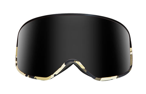 Native - Ten Mile Black Camo Snow Goggles / Dark Gray Lenses