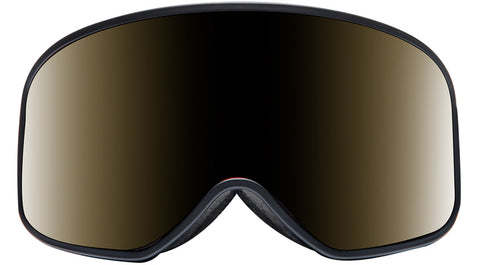 Native - El Jefe Matte Black Gloss Black Sunglasses / Violet Reflex Lenses
