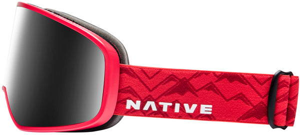 Native - Tenmile Red Watch  Snow Goggles / Dark Gray Lenses