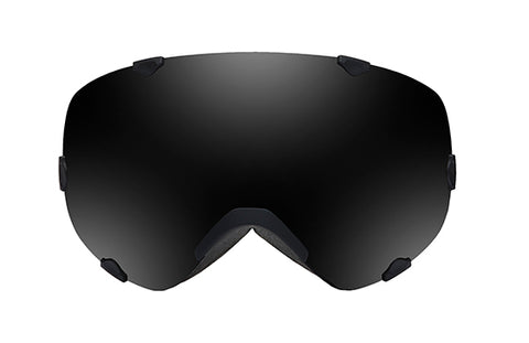 Native - Spindrift Black Jack Snow Goggles / Dark Gray Lenses