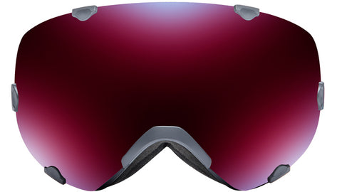 Native - Spindrift Gray Topo Snow Goggles / Blue Mirror Lenses